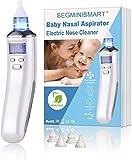 Nasensauger Baby, Nasal Aspirator, Baby Nasensauger Elektrisch, USB Aufladen mit 5 Einstellbare...