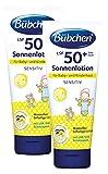 Bübchen Sensitiv Sonnenlotion LSF 50+, wasserfest, Sonnenschutz für empfindliche Babyhaut, sehr...