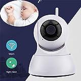 WDXIN Babyphone mit Kamera Digital Video 720p / 1080p WiFi drahtlose Kamera Bewegungserkennungsalarm...