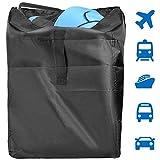 LoiStu Standard Reisetasche für Kinderwagen, Einfach Reisen und Geld Sparen, Robuste transporttasche Kinderwagen, mit Schulterriemen, für Flughafen, Bahnhof, Autofahrten(46×21×21Zoll)