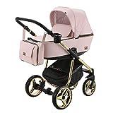 BeBe-Mobile Kinderwagen Kombikinderwagen 2in1 Kinderwagenset Babywanne Buggy Gusto Special GS813...