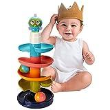 Activity Center Kugelbahn Spielzeug für Jungen und Mädchen , Pädagogisches Spielzeug Rolling Ball...