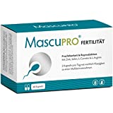 MascuPRO Fertilität Mann - Fruchtbarkeit - Spermienproduktion + 60 Kapseln + L-Carnitin Carnipure,...