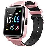 Smartwatch Kinder Telefon für Mädchen und Jungen mit Spielen Musik Player HD Touchscreen Kamera...