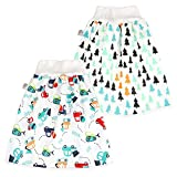 FLYISH DIRECT Baby Trainingshose High Waist Cotton Sleepy Windelhose Urinpolster Klimmzüge Lernhose...