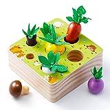 Babyhelen Holzspielzeug, Baby Motorik Spielzeug für Jungen und Mädchen, Happy Farm Montessori...