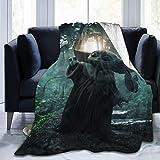 SQAW Ba-by Yo-Da Ultraweiche Micro Fleece Decke Decke Schlafsofa Decke für Erwachsene Kinder 50...