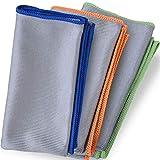 Bear family Microfaser Glastücher, Fenstertuch, Poliertuch, Putztücher, Reinigungstücher,...