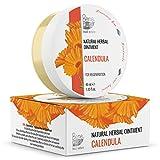 Natürliche Ringelblumen Salbe 40ml, kaltgepresstes Öl Extrakt, 100% natürlich - heilt Wunden,...