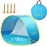 Ceekii Baby Strandzelt, Pop-up Baby Strand Zelt Portable Shade Pool UV-Schutz Sun Shelter für Kleinkinder, Strandmuschel, Baby Pool