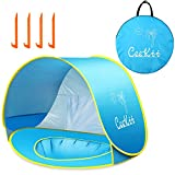 Ceekii Baby Strandzelt, Pop-up Baby Strand Zelt Portable Shade Pool UV-Schutz Sun Shelter für...