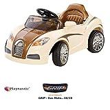 Playtastic Kinderauto: Edles Elektro-Kinderfahrzeug mit Fernsteuerung (Kinder Elektroauto)