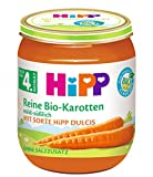 HiPP Reine Früh-Karotten Bio, 6er Pack (6 x 125 g)