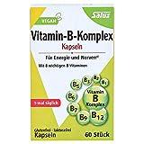 Salus Vitamin-B-Komplex Kapseln (vegetabilde Kapseln), 1er Pack (1 x 22.8 g)