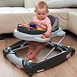 2IN1 Lauflernhilfe + Spielcenter (12 Melodien) Gehfrei Gehhilfe Baby Walker Babyschaukel...