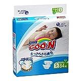 GOO.N Japanische Baby Windeln für Neugeborene Größe S (4-8 kg) 84 Stück Ultraweiche Superdünne...