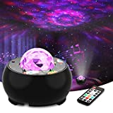 Riarmo Sternenhimmel Projektor,LED Sternenlicht Projektor mit Farbwechsel Musikspieler & Wireless...