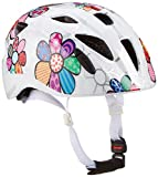 ALPINA Unisex - Kinder, XIMO FLASH Fahrradhelm, white flower gloss, 49-54 cm