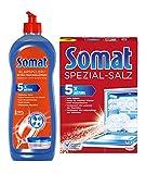 Somat Spülmaschinen SET Klarspüler 750ml & Spezial-Salz 1,2Kg
