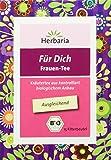 Herbaria 'Für Dich Frauentee' 15FB BIO Ausgleichender Kräutertee für Frauen, 22.5g