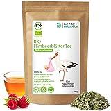 HIMBEERBLÄTTERTEE SCHWANGERSCHAFT - BIO 100% naturbelassen - in Deutschand hergestellt ● 80g Himbeerblätter Tee ● Premium Qualität von Detox Organica