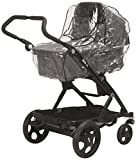 Playshoes Universal Regenverdeck für Kinderwagen, Regenhaube mit Klettverschluss und Gummizug,...