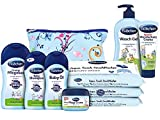 Bübchen Babypflege-Starterset 7 teiliges Pflegeset für Neugeborene mit praktischer Tasche, 1er...