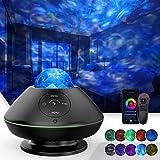 TATE GUARD LED Sternenhimmel Projektor,Ozeanwellen-Sternenlicht Projektor,10 Farben,Wifi/Bluetooth...