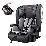 Besrey Kindersitz Kinderautositz mit Isofix - Kinder Autositz Gruppe 1/2/3 - Reise Tragbar und...