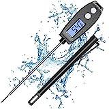 Digital Fleischthermometer Küchenthermometer, Cocoda 5.2'' Instant Read Thermometer Küche mit LCD Bildschirm, Grillthermometer, Wasserdicht Bratenthermometer für Grill, BBQ, Smoker, Baby-Ernährung