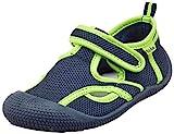 Playshoes Jungen Unisex Kinder UV-Schutz Sandale Aqua Schuhe, Blau (Marine/Grün 787), 22/23 EU