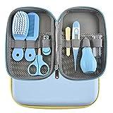 MKNZOME Babypflege Set, 8 Stück Baby Pflege Produkte Neugeborenen Pflegen Set mit Nasensauger...