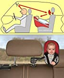 BebiVista Babyschalenspiegel - Rückspiegel (175 x 110mm) um Babys in Babyschalen oder Reboardern zu...