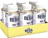 Nestlé BEBA EXPERT HA PRE Hypoallergene Säuglings-Anfangsnahrung, trinkfertig von Geburt an, 6x200...