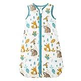 Mosebears Baby Winterschlafsack kinder schlafsack 2.5 Tog, Baby Schlafsäcke 100% Baumwolle für...
