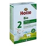 Holle Bio 2 Folgemilch aus Ziegenmilch, 400 g Pulver