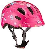 ABUS Smiley 2.0 Kinderhelm - Robuster Fahrradhelm für Mädchen und Jungs - Pink mit...