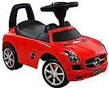 Rutschauto Spielzeugauto ARTI Mercedes SLS AMG 332 Red / Rot Lauflernhilfe Lauflernwagen...