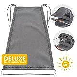 Zamboo Universal Sonnensegel DELUXE für Kinderwagen Babywanne - reißfester Sonnenschutz mit UV...