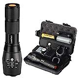 Lumitact G700 LED Taschenlampe, Extrem Hell 3000 Lumen CREE Wiederaufladbare Taktische...