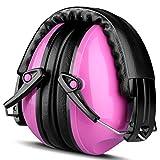 Gehörschutz Baby, ECHTPower Gehörschutz Kind Kapselgehörschutzer Ohrenschützer Rauschunterdrückung für Kids, Ab 12 Monaten bis 15 Jahre, SNR 25dB, Pink