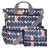 Wickeltasche für Zwillinge. Diese geräumige und multifunktionelle Wickeltasche lässt sich als...
