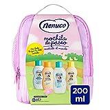 Nenuco Mochila Rosa Agua de Colonia + Flüssigseife + Shampoo + Feuchtigkeitslotion - 1 Pack