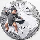 Baby Krabbeldecke, Spiel Matten Baumwolle, faltbare baby bodenmatte, Spielmatte Baby Geruchlos, Baby...