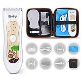 Bimirth Elektronischer Baby Haarschneider Wasserdicht Waschbar, Ruhig Schnurloser...