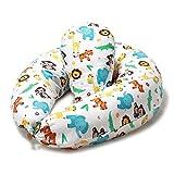 Niimo Stillkissen Seitenschläferkissen Schwangerschaftskissen mit Klein Kissen zum Schlafen Lagerungskissen mit externer Kissenbezug aus 100% Baumwolle für Mutter und Baby (Dschungel)