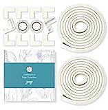 JANEYO - 6m Kantenschutz & 10 x Eckenschutz Set für Kinder und Babys - optimale Sicherheit als...