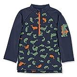 Sterntaler Baby - Jungen Langarm-Schwimmshirt, UV-Schutz 50+, Alter: 6-12 Monate, Größe: 74/80, Farbe: Marine