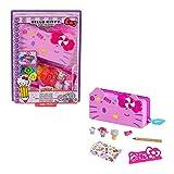 Hello Kitty GVC41 - Hello Kitty Minis Jahrmarkt-Stiftset Schatulle
