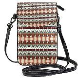 XCNGG Kleine Geldbörse Native American Cell Phone Purse Wallet for Women Girl Small Crossbody Purse Bags